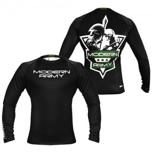 Rashguard Modern Army Poundout - Basic Long