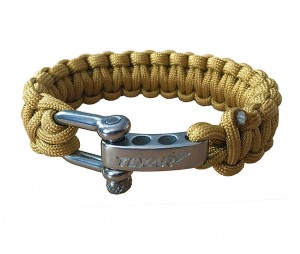Bransoleta survivalowa paracord Texar Coyote